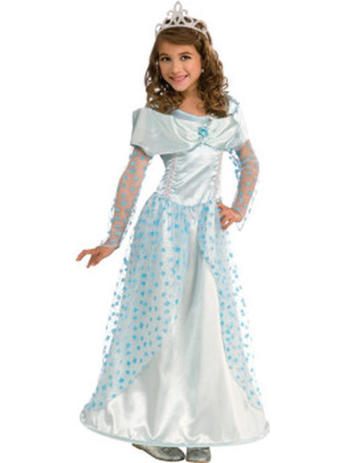 Blue Star Princess - Size M-Costumes - Girls-Jokers Costume Hire and Sales Mega Store