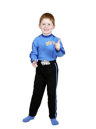 Blue Wiggles Costume - Size 2-4-Costumes - Boys-Jokers Costume Hire and Sales Mega Store