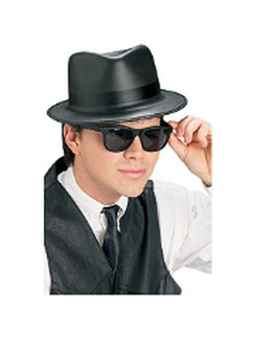 Blues Brothers Hat And Glasses SetSKU  568Type  Hats and Headwear 6c863380635