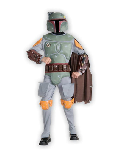 Boba Fett Deluxe Child - Size M-Costumes - Boys-Jokers Costume Hire and Sales Mega Store