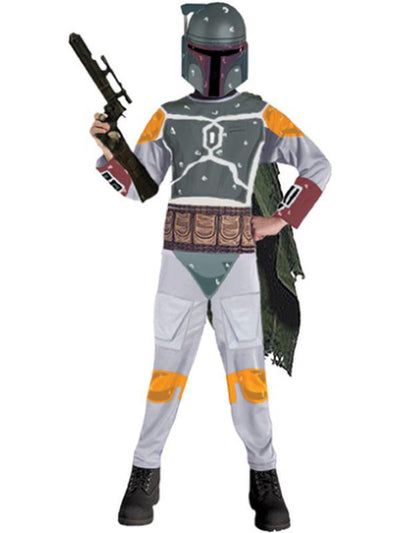 Boba Fett Star Wars Child - Size M-Costumes - Boys-Jokers Costume Hire and Sales Mega Store