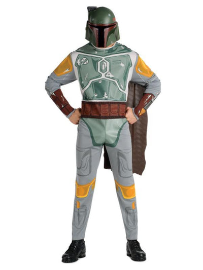 Bobba Fett - Size Std-Costumes - Mens-Jokers Costume Mega Store