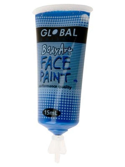 Body Art 15ml Tube - DEEP BLUE-Make-up - Global Body Art-Jokers Costume Hire and Sales Mega Store