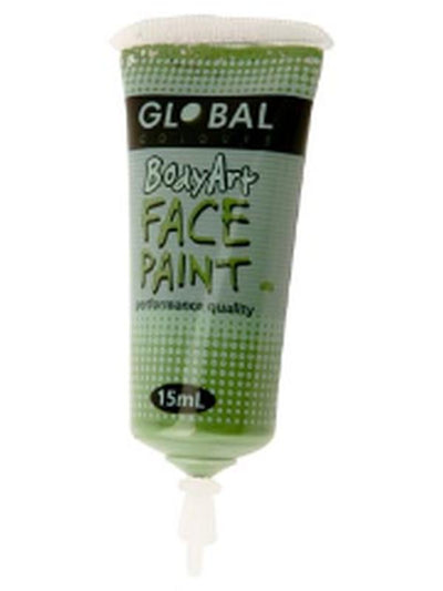 Body Art 15ml Tube - GREEN OXIDE.-Make-up - Global Body Art-Jokers Costume Hire and Sales Mega Store