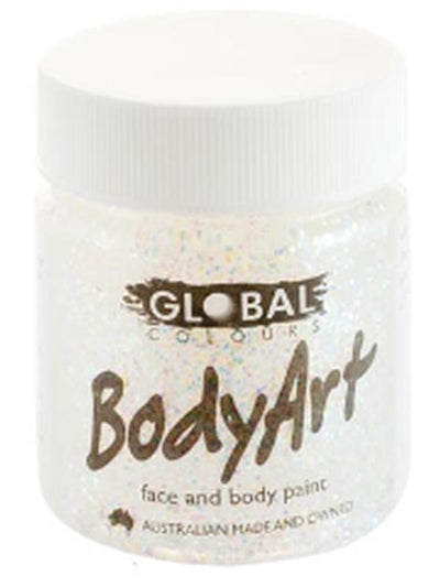 Body Art 45ml Jar - ULTRA GLITTER-Make-up - Global Body Art-Jokers Costume Hire and Sales Mega Store