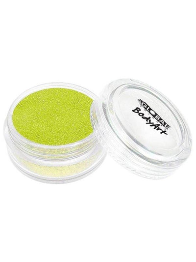 **BodyArt Glitter Dust - Iridescent Yel*-Make-up - Global Body Art-Jokers Costume Hire and Sales Mega Store