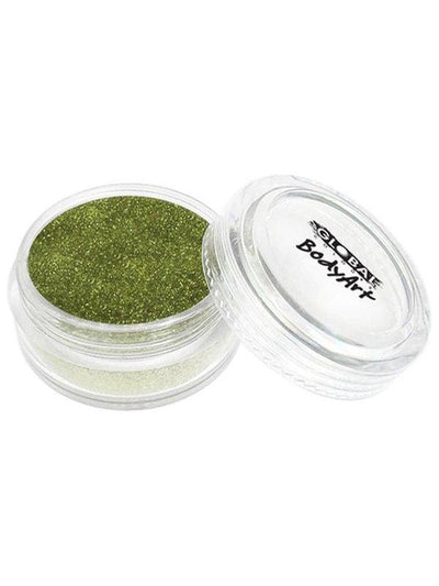 **BodyArt Glitter Dust - Lime Green**-Make-up - Global Body Art-Jokers Costume Hire and Sales Mega Store