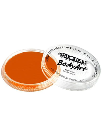 BodyArt Make Up 32g - Orange-Make-up - Global Body Art-Jokers Costume Hire and Sales Mega Store