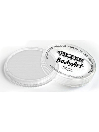 BodyArt Make Up 32g - White-Make-up - Global Body Art-Jokers Costume Hire and Sales Mega Store
