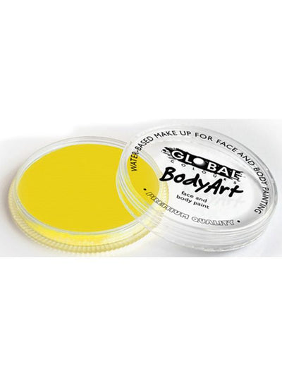 BodyArt Make Up 32g - Yellow-Make-up - Global Body Art-Jokers Costume Hire and Sales Mega Store