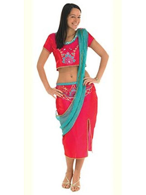 Bollywood Starlet Pink - Size M-Costumes - Women-Jokers Costume Hire and Sales Mega Store