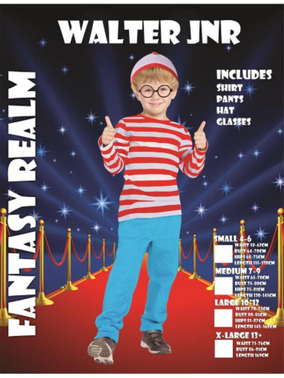 Boys Wally costume-Costumes - Boys-Jokers Costume Hire and Sales Mega Store