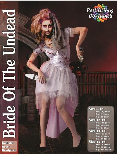Bride of the Undead-Costumes - Women-Jokers Costume Hire and Sales Mega Store
