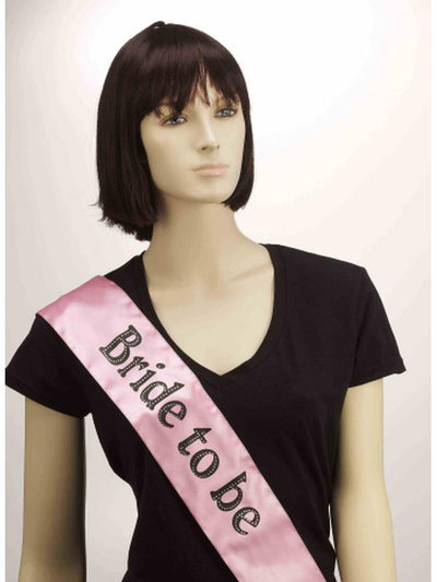 Bride To Be Sash-Costume Accessories-Jokers Costume Hire and Sales Mega Store