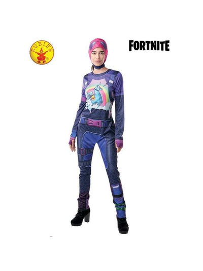 BRITE BOMBER CLASSIC JUMPSUIT, TEEN-Costumes - Girls-Jokers Costume Hire and Sales Mega Store