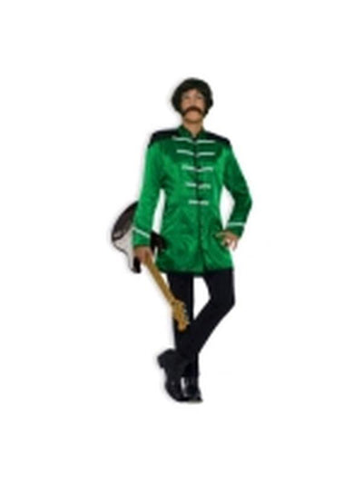 British Explosion Green Costume - Size Std-Costumes - Mens-Jokers Costume Hire and Sales Mega Store