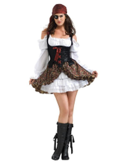 Buccaneer Beauty Secret Wishes Costume - Size M-Jokers Costume Mega Store