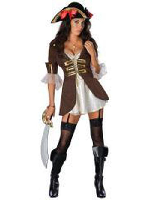 Buccaneer Secret Wishes Costume - Size Xs-Costumes - Women-Jokers Costume Hire and Sales Mega Store