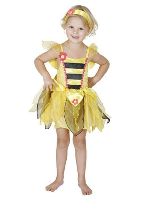 Bumble Bee - Size 3-5-Costumes - Girls-Jokers Costume Hire and Sales Mega Store