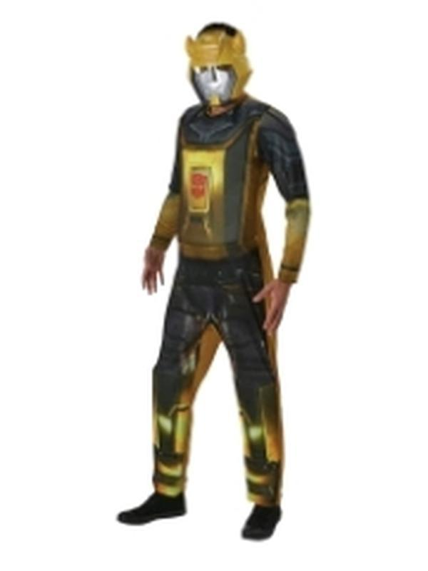 Bumblebee Adult Costume - Size Xl-Costumes - Mens-Jokers Costume Hire and Sales Mega Store
