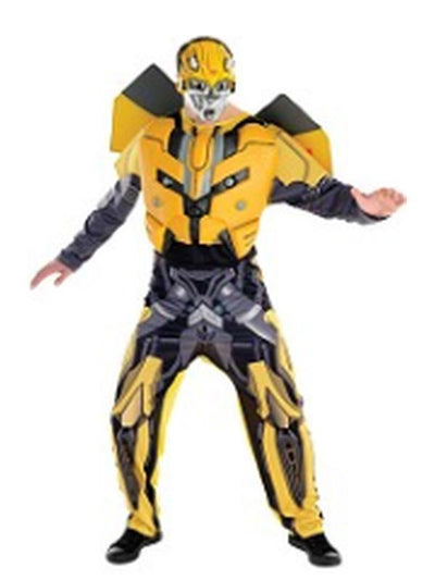 Bumblebee Costume Adult - Size Std-Costumes - Mens-Jokers Costume Hire and Sales Mega Store