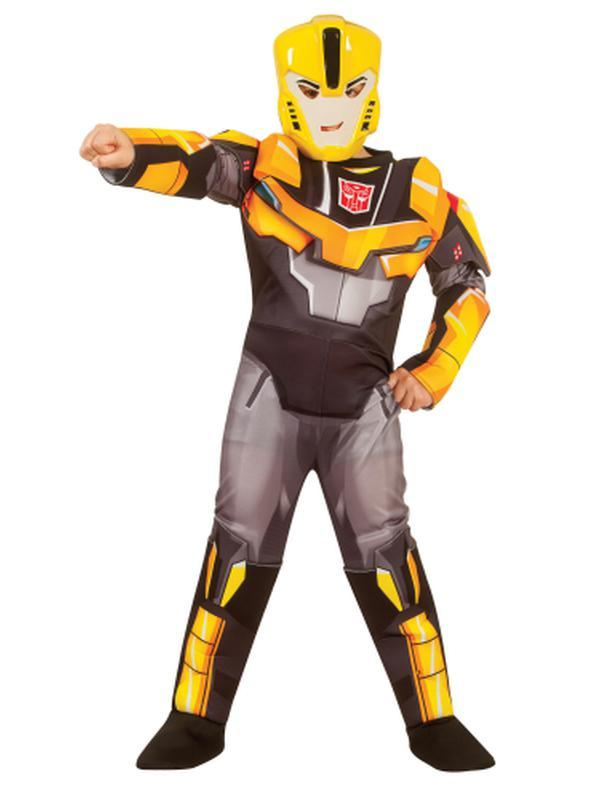 Bumblebee Rid Deluxe Costume Child - Size 6-8Yrs-Costumes - Boys-Jokers Costume Hire and Sales Mega Store