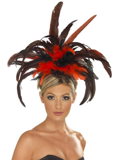 Burlesque Headband-Hats and Headwear-Jokers Costume Mega Store