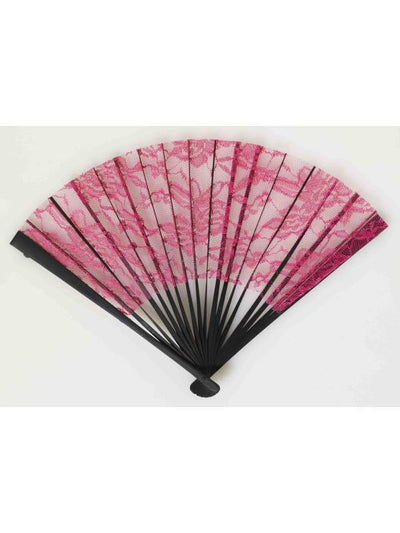 Burlesque Lace Fan-Costume Accessories-Jokers Costume Hire and Sales Mega Store