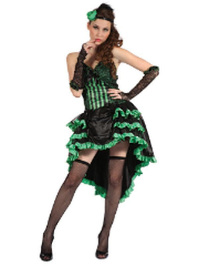 Burlesque Saloon Girl - Adult - Med-Costumes - Women-Jokers Costume Hire and Sales Mega Store
