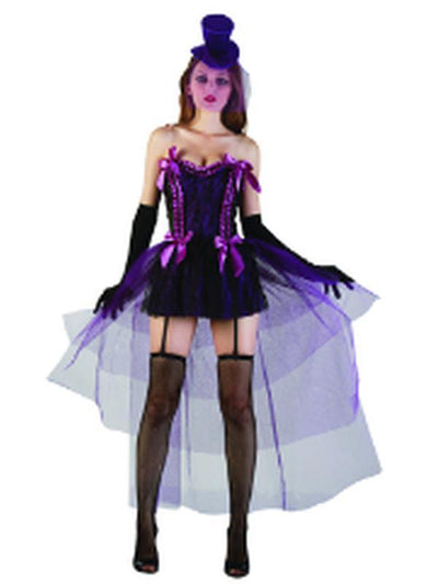 Burlesque Showgirl - Adult - Medium-Costumes - Women-Jokers Costume Mega Store