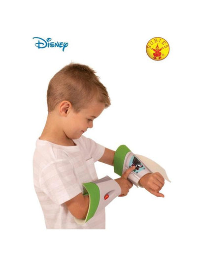 BUZZ TOY STORY 4 GAUNTLETS, CHILD-Armwear-Jokers Costume Hire and Sales Mega Store