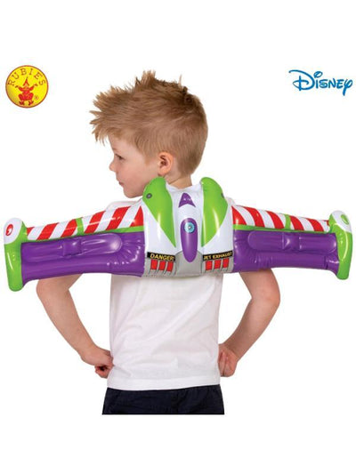 BUZZ TOY STORY 4 INFLATABLE WINGS, CHILD-Costume Accessories-Jokers Costume Hire and Sales Mega Store