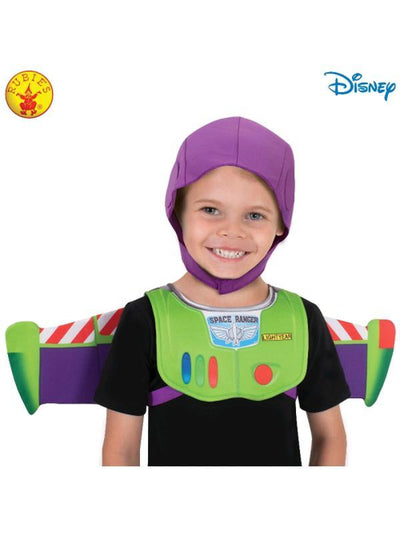BUZZ TOY STORY 4 WINGS AND SNOOD SET, CHILD-Costume Accessories-Jokers Costume Hire and Sales Mega Store