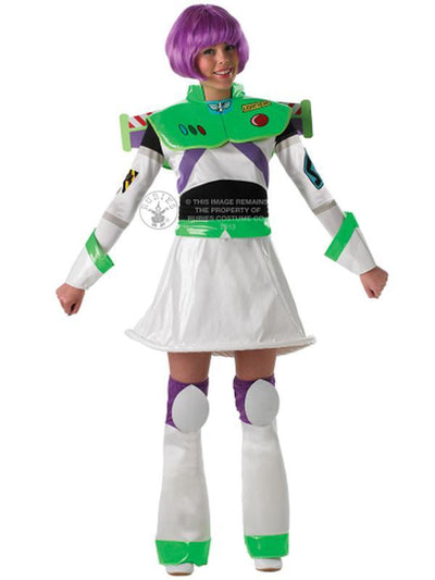 Buzz Toy Story Ladies - Size L-Costumes - Women-Jokers Costume Hire and Sales Mega Store