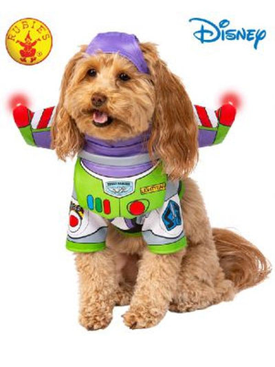 BUZZ TOY STORY PET COSTUME-Costumes - Pets-Jokers Costume Hire and Sales Mega Store