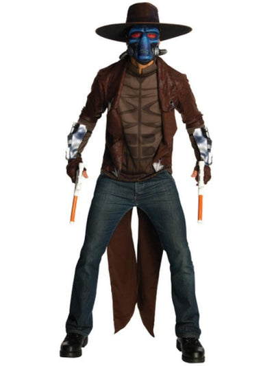 Cad Bane Deluxe Adult - Size Std-Costumes - Mens-Jokers Costume Hire and Sales Mega Store