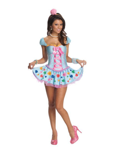 Candy Sweetheart Secret Wishes Costume - Size L-Costumes - Women-Jokers Costume Hire and Sales Mega Store