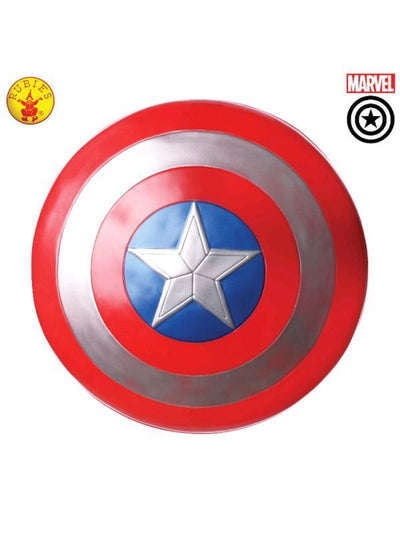 "CAPTAIN AMERICA 24"" SHIELD, ADULT-Weapons-Jokers Costume Hire and Sales Mega Store"