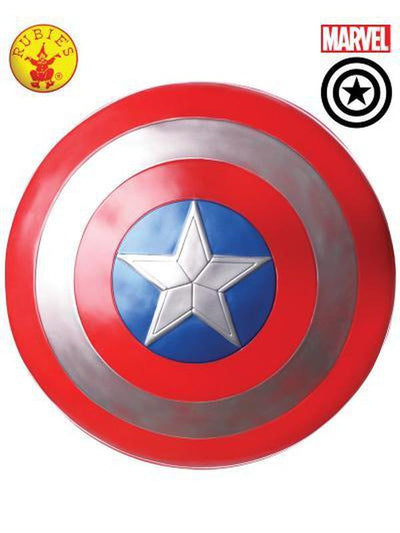 "CAPTAIN AMERICA 24"" SHIELD - ADULT-Weapons-Jokers Costume Hire and Sales Mega Store"