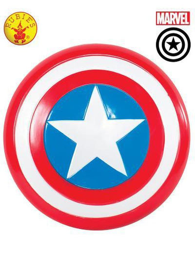 "CAPTAIN AMERICA SHIELD 12""-Weapons-Jokers Costume Hire and Sales Mega Store"