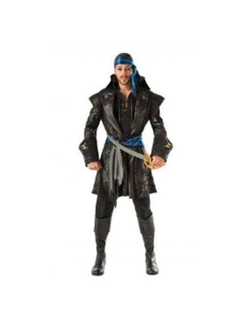 Captain Black Heart Costume - Size Std-Costumes - Mens-Jokers Costume Hire and Sales Mega Store