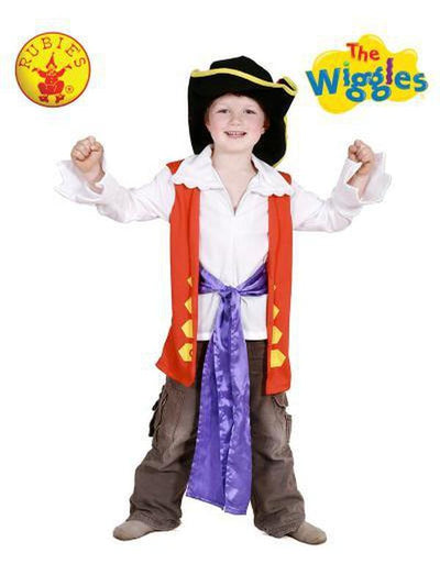 CAPTAIN FEATHERSWORD DRESS UP SET SIZE 2-4-Costumes - Boys-Jokers Costume Hire and Sales Mega Store