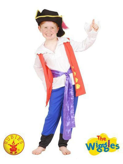CAPTAIN FEATHERSWORD PREMIUM COSTUME - SIZE 2-4-Costumes - Boys-Jokers Costume Hire and Sales Mega Store
