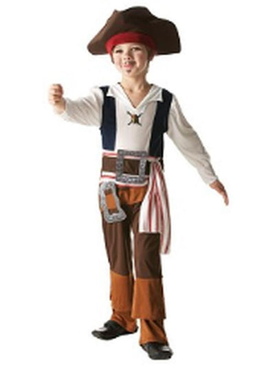 Captain Jack Sparrow Child - Size M-Costumes - Boys-Jokers Costume Hire and Sales Mega Store