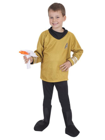 Captain Kirk Star Trek Child- Size S-Costumes - Boys-Jokers Costume Hire and Sales Mega Store