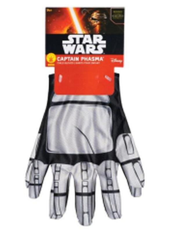 Captain Phasma Gloves-Armwear-Jokers Costume Hire and Sales Mega Store