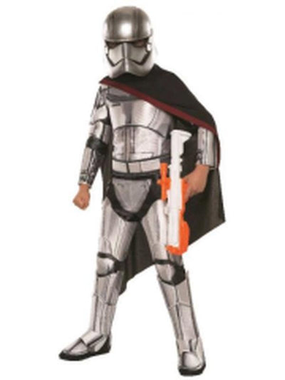 Captain Phasma Super Deluxe - Size 6-8-Costumes - Boys-Jokers Costume Hire and Sales Mega Store