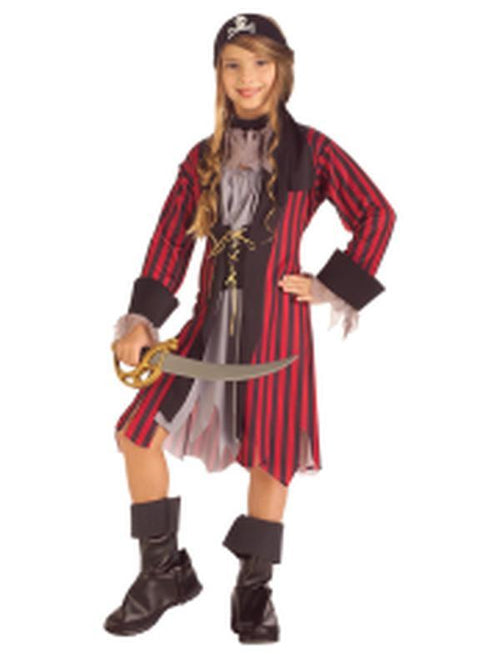 Caribbean Princess Costume - Size M-Costumes - Girls-Jokers Costume Hire and Sales Mega Store