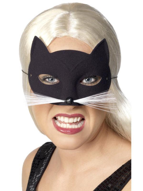 Cat Eyemask-Masks - Animal-Jokers Costume Hire and Sales Mega Store