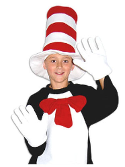 Cat with Hat Accessory Kit - Child-Costumes - Boys-Jokers Costume Hire and Sales Mega Store
